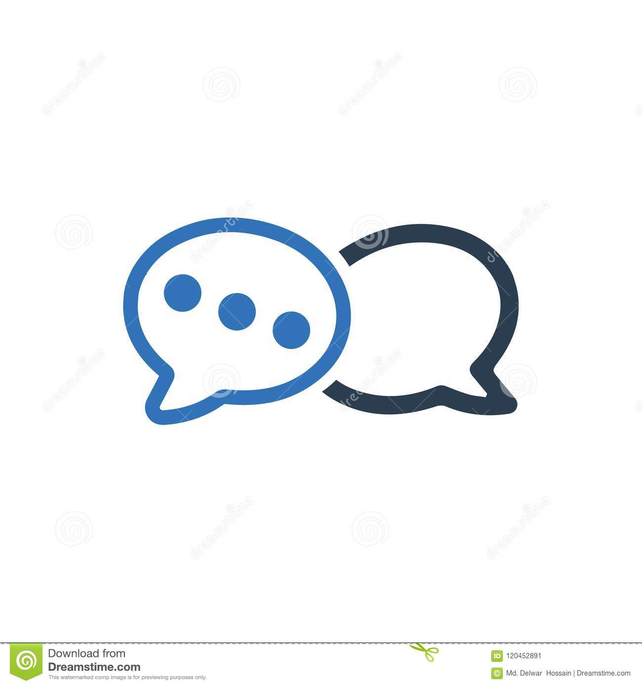 Conversation, Chat Icon