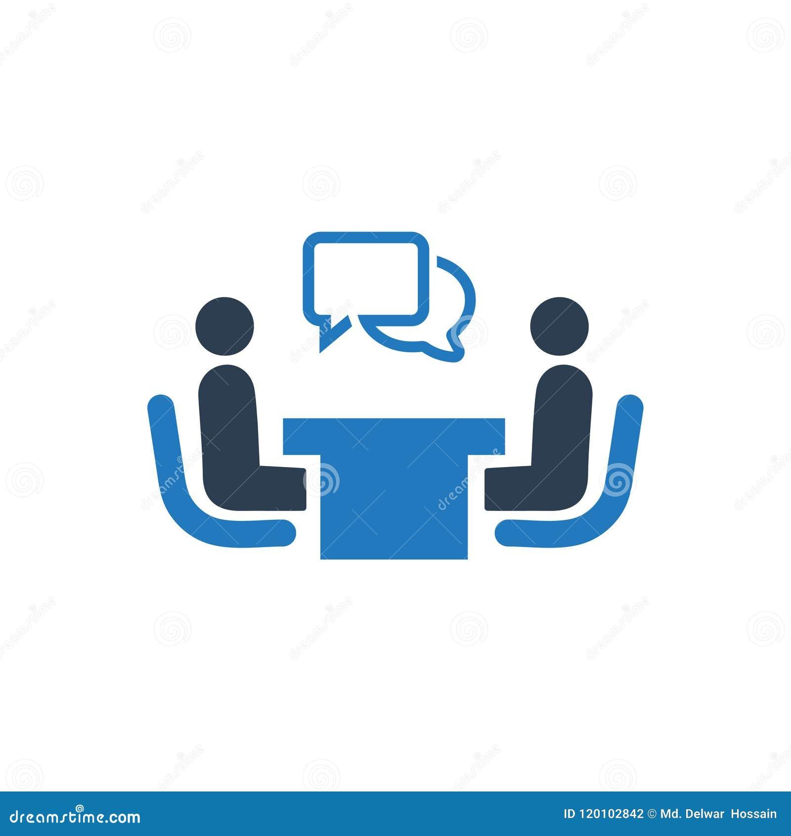 Recruitment, Interview Icon
