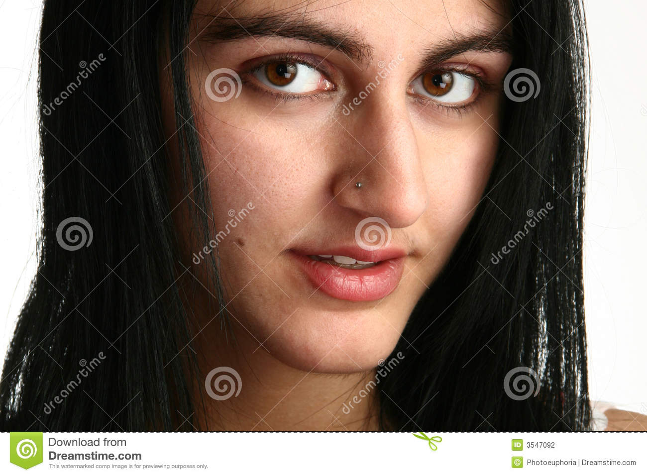 Beautiful Middle Eastern Woman Stock Photography - Image ...