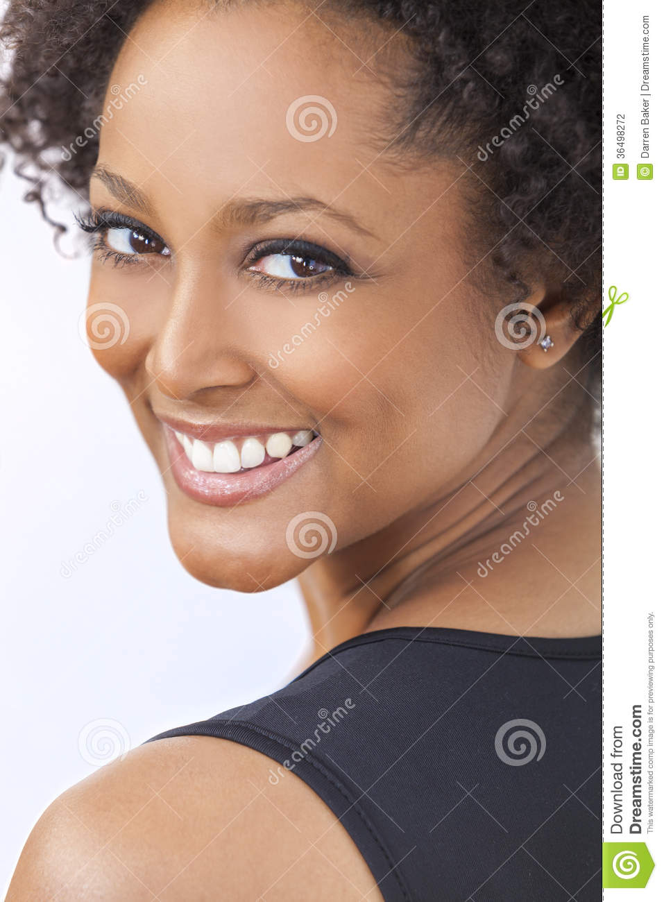 Beautiful Mixed African American Women