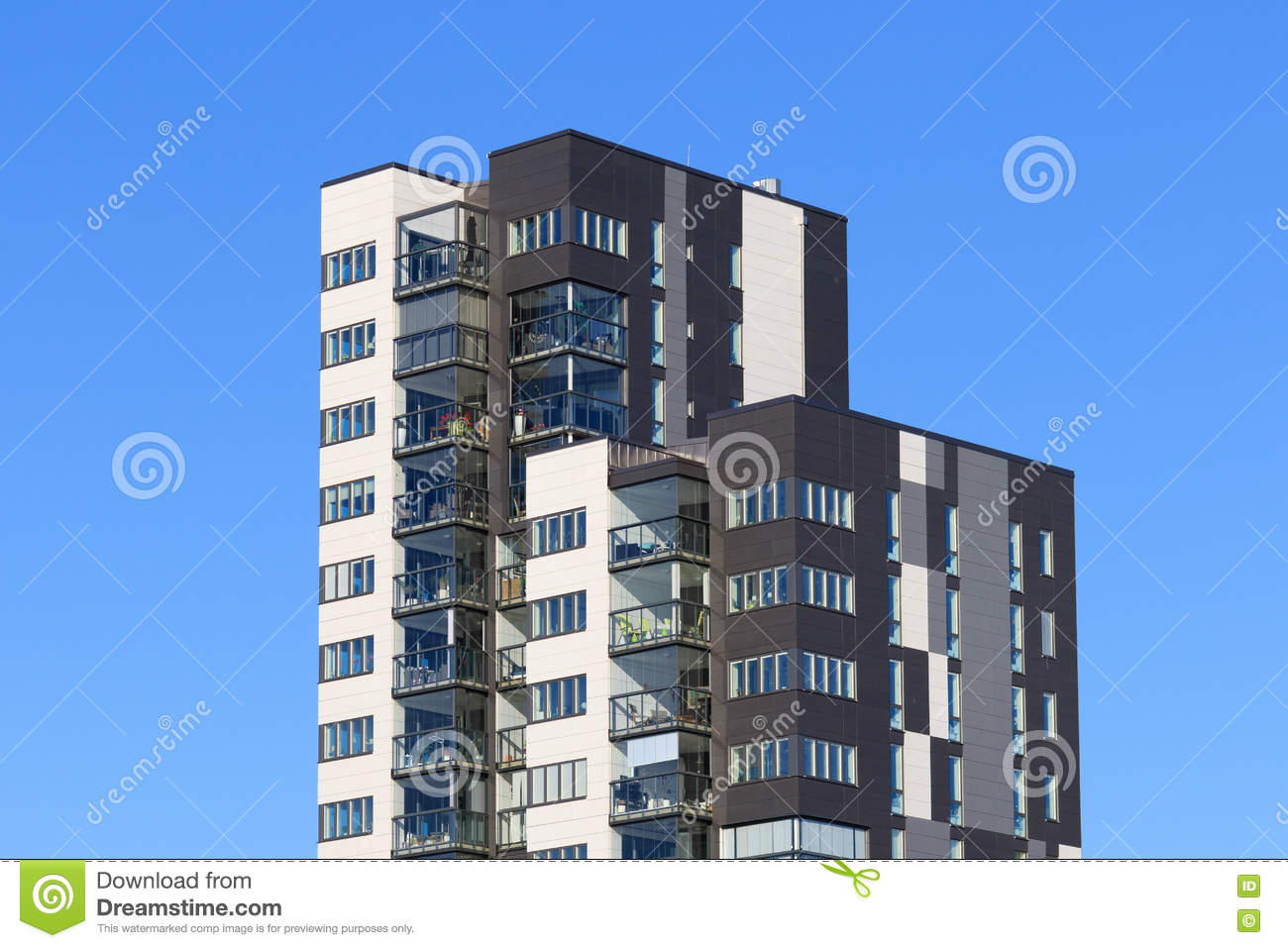 Beautiful Modern Apartments In Sweden Stock Photo Image Of - Sleek-and-beautiful-apartment-in-sweden
