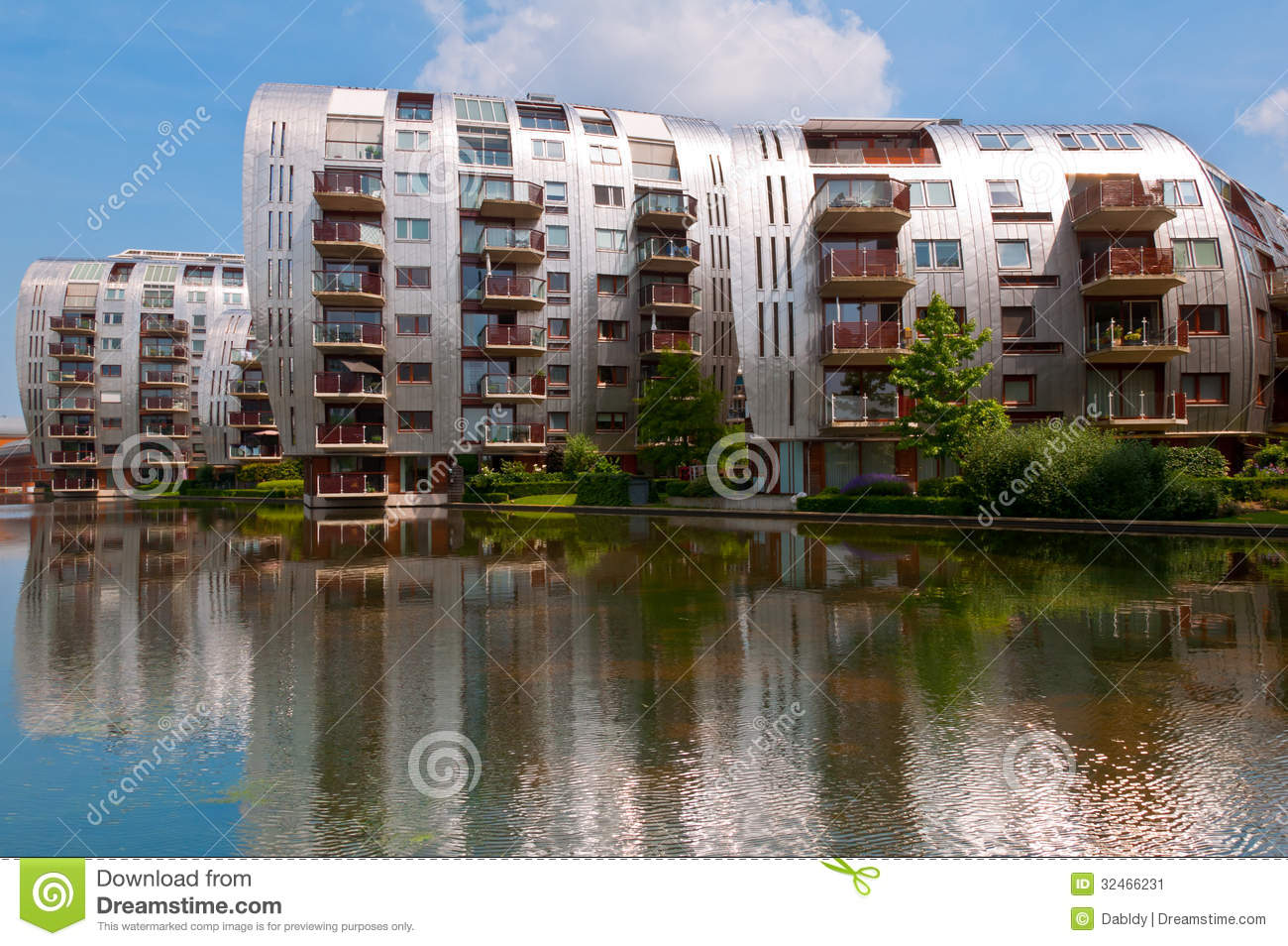 Stock Image Beautiful Modern Architecture Residential Apartment Buildings Newly Built Homes Nice Neighborhood Den Bosch  herlands Image32466231 on modern residential house design