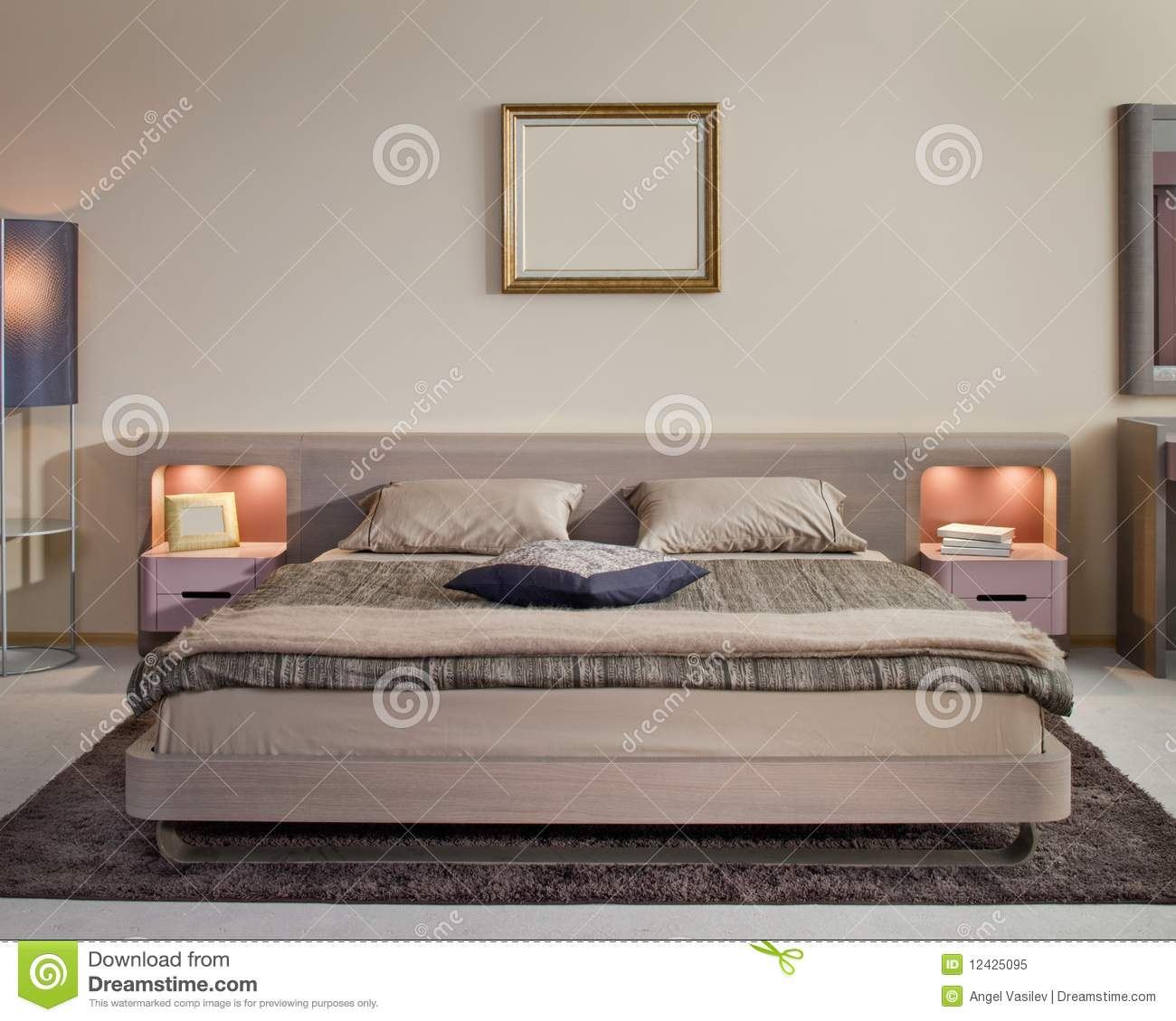 Royalty Free Stock Photo Bedroom Design Elegant Home Hotel Interior
