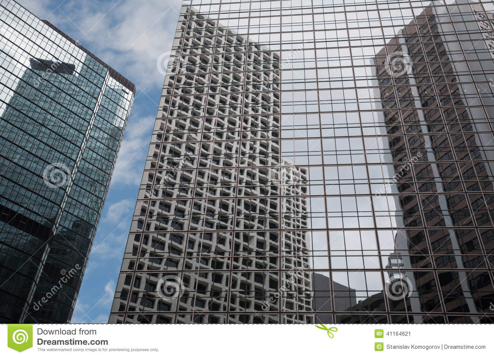 Beautiful modern buildings in hong kong stock image for Beautiful modern buildings