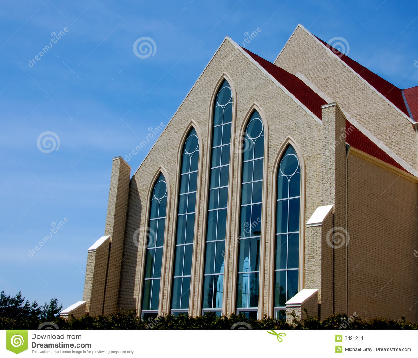 Beautiful modern church