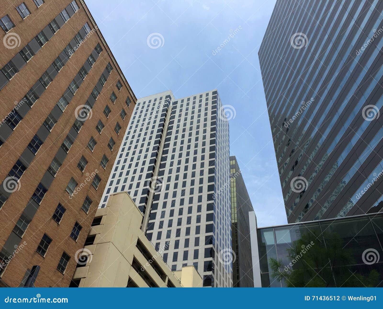 Beautiful modern  city Dallas