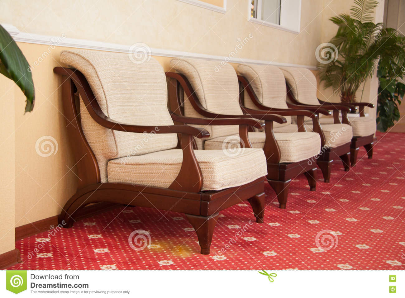 a beautiful modern hotel interior stock photo - image: 74066897