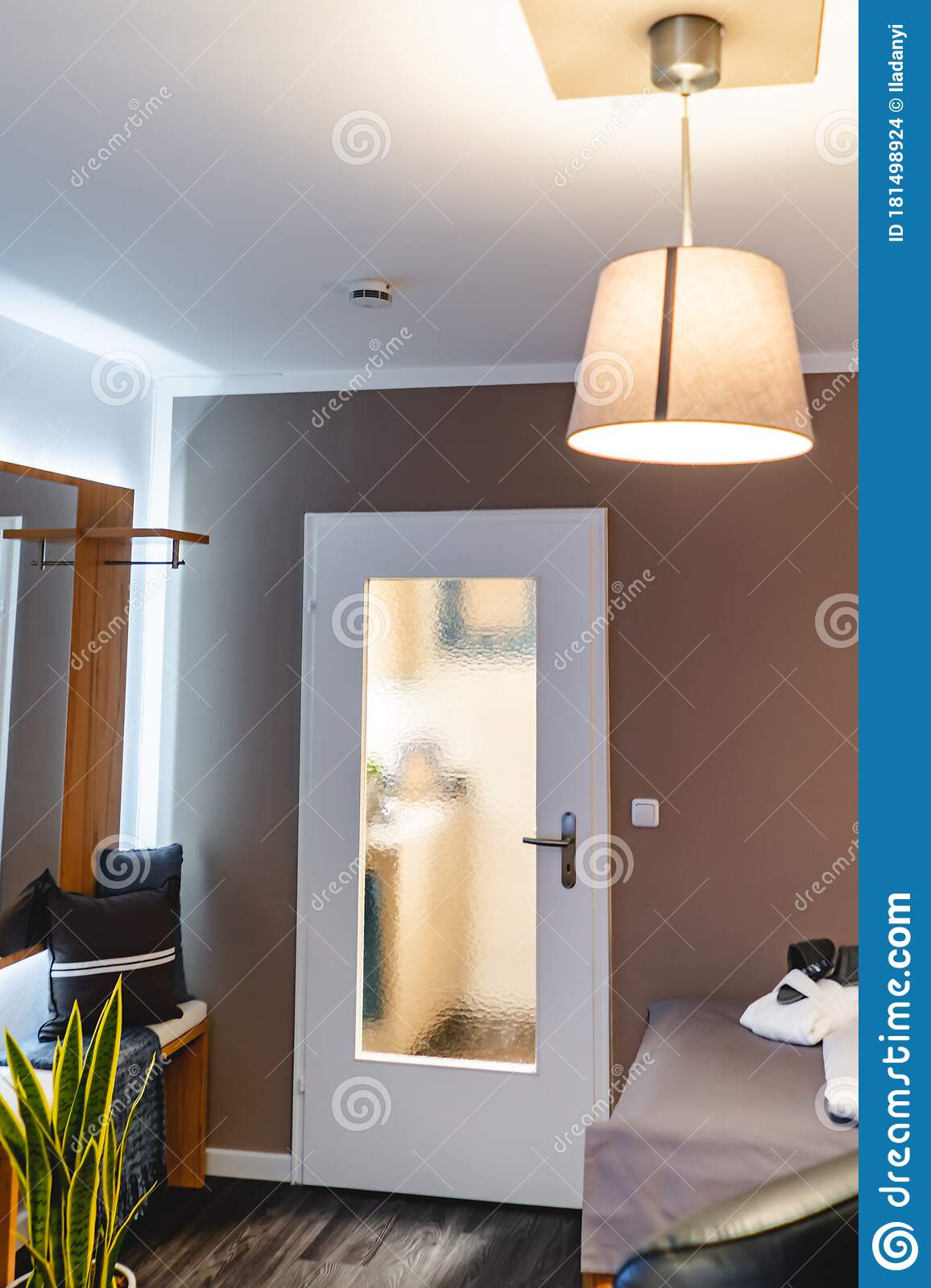Warm Light Of A Lamp Stock Photo Image Of Floor Decorate 181498924