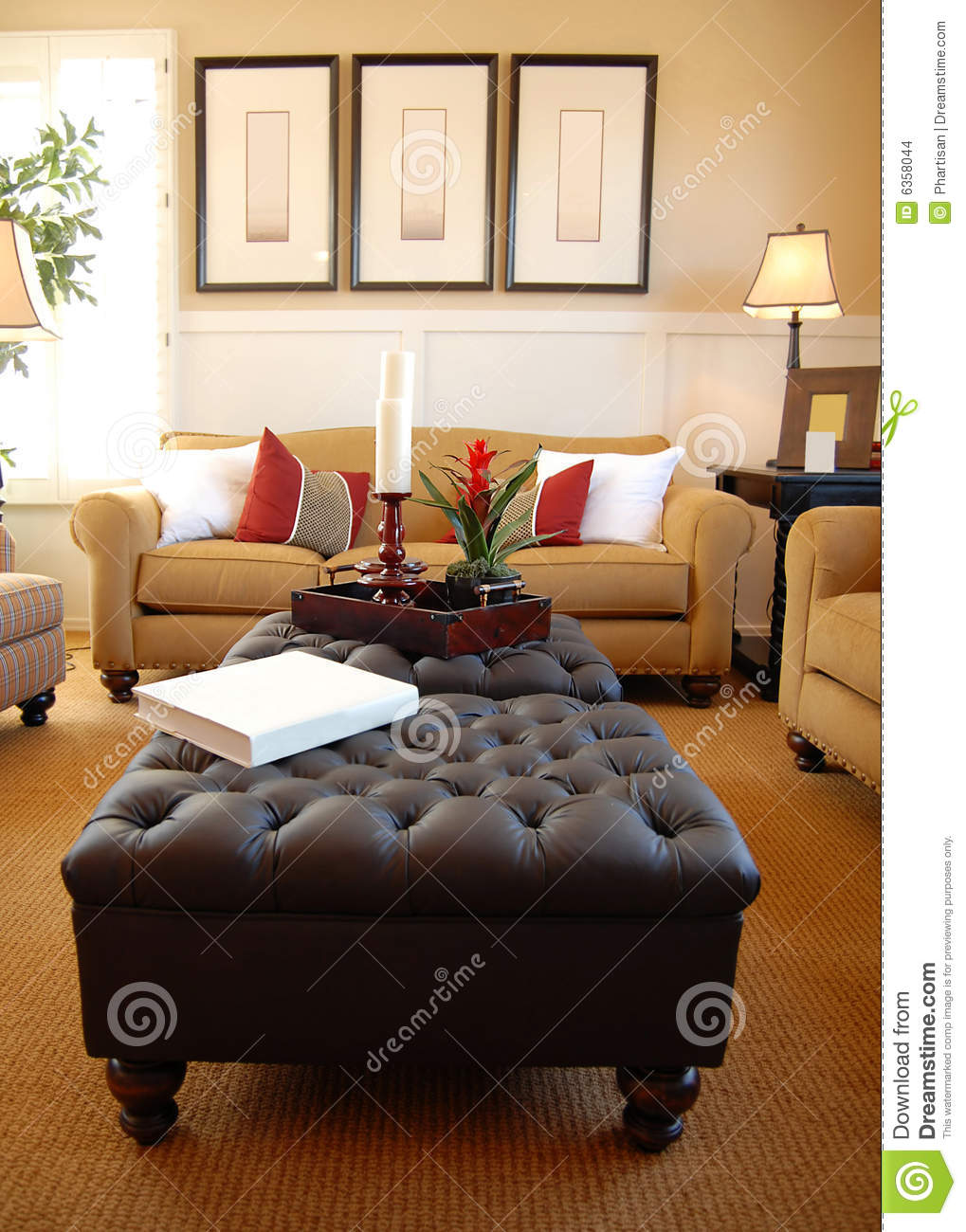 Beautiful modern living room stock images image 6358044 for Beautiful modern living rooms