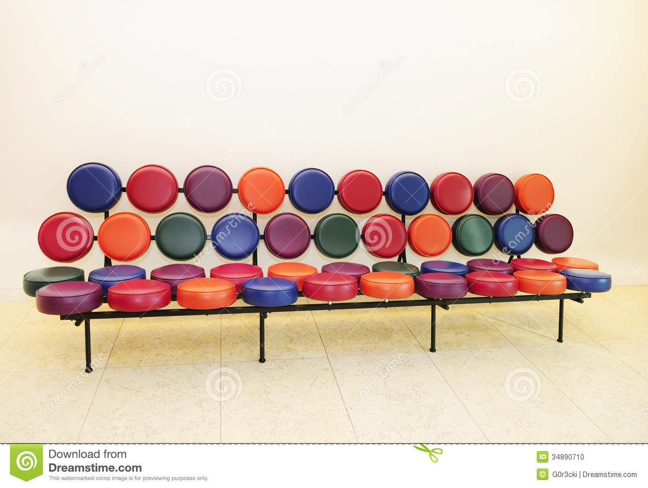 Beautiful And Modern Sofa Stock Photo Image 34890710