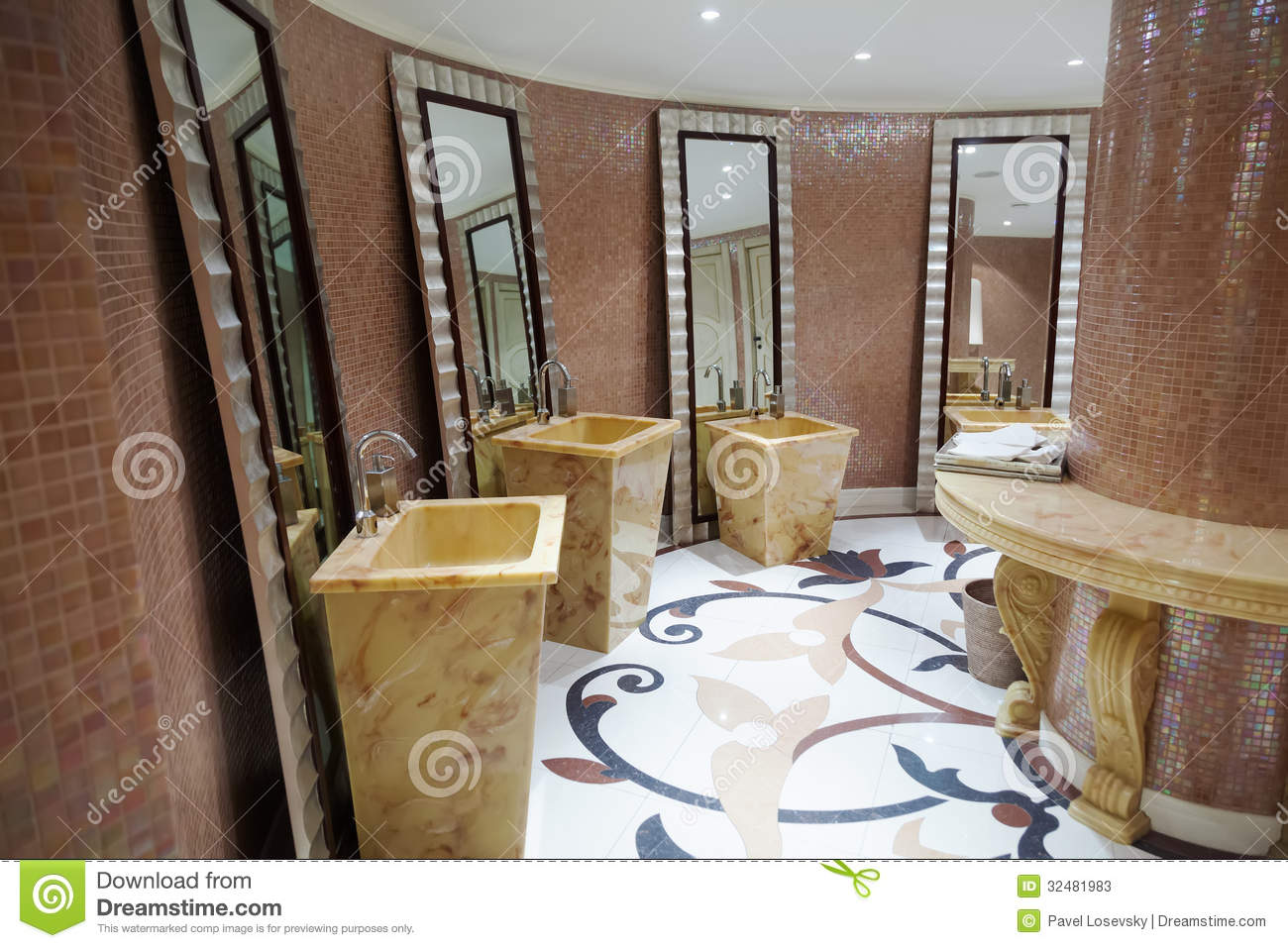 Beautiful modern washroom stock photos image 32481983 for Beautiful washrooms