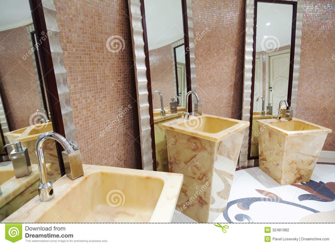 Beautiful modern washroom stock photography image 32481982 for Beautiful washrooms