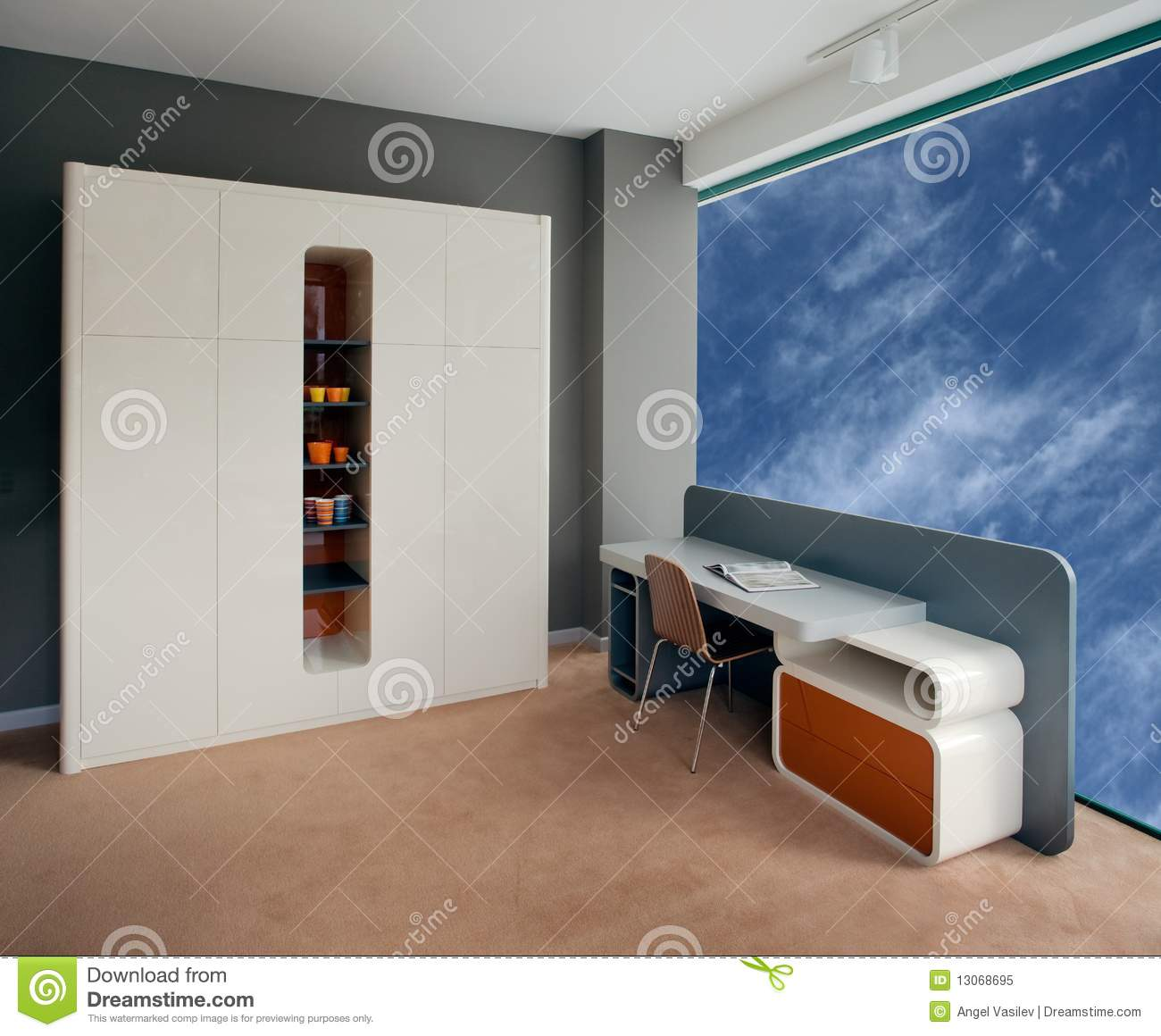 Royalty Free Stock Photo Beautiful Design Elegant Home Interior