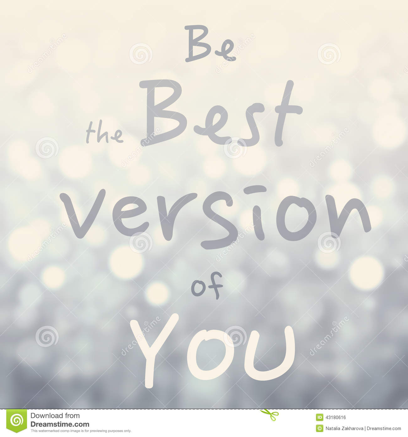 Be The Best Version Of You Quote: Beautiful Motivational Quote With Message Be The Best