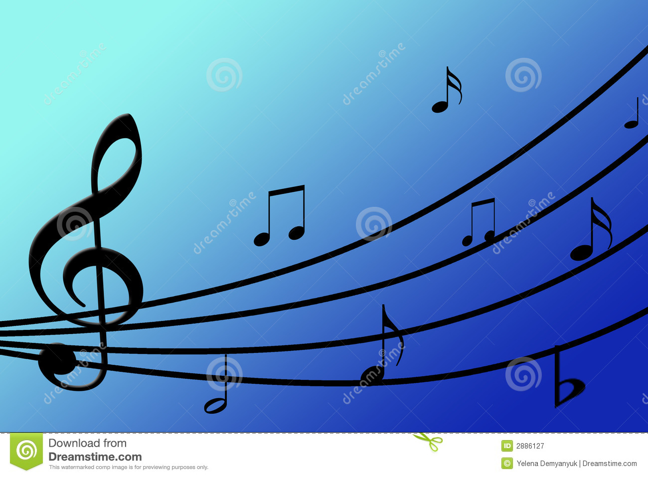 ... Musical Background Royalty Free Stock Photography - Image: 2886127: www.dreamstime.com/royalty-free-stock-photography-beautiful-musical...