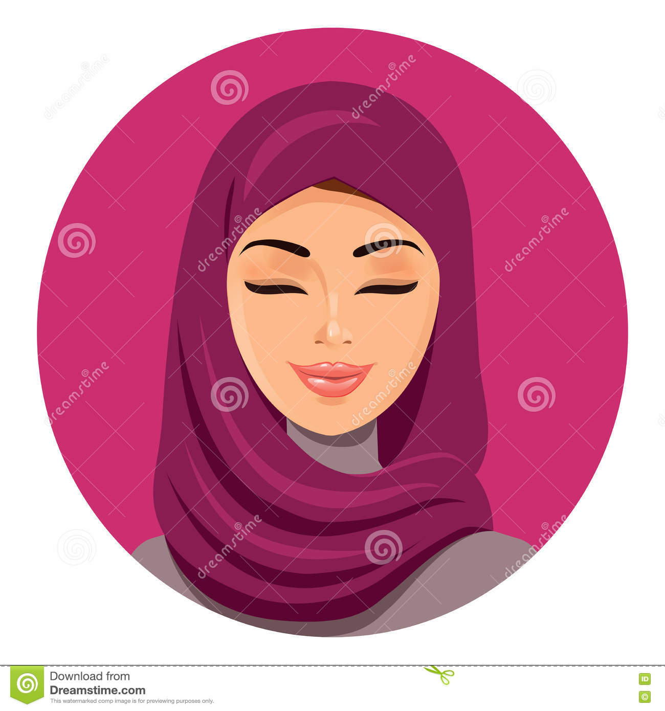 Muslim hijab asian no money no problem