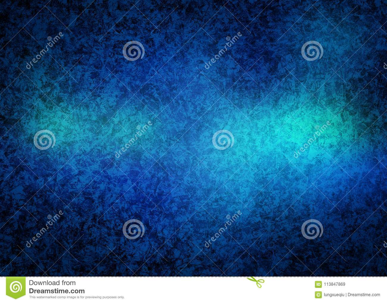 Icy Cold and Old Blue Grunge Distort Rusty Abstract Pattern Texture Background Wallpaper