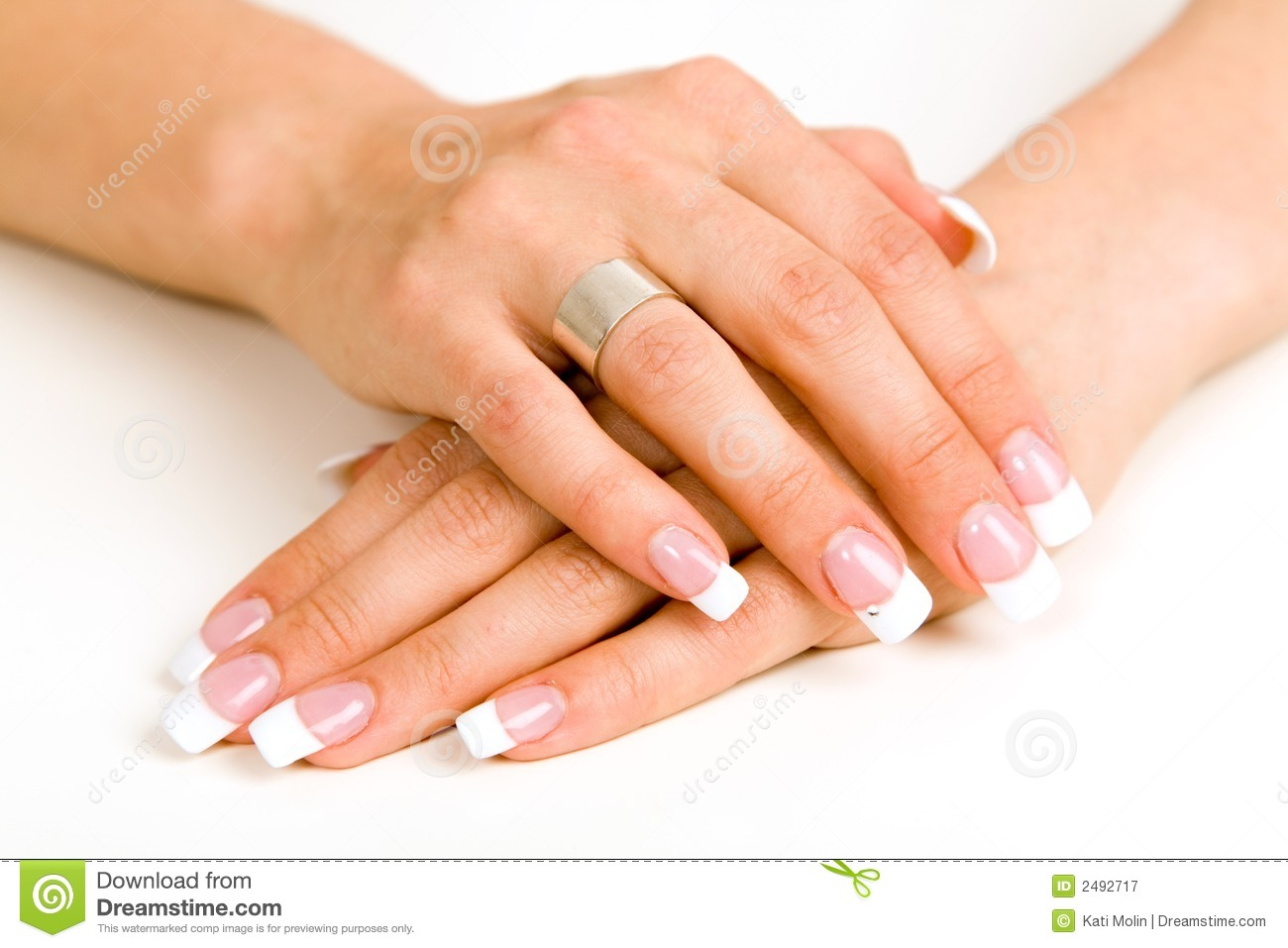 Beautiful Nails Royalty Free Stock Photography - Image: 2492717