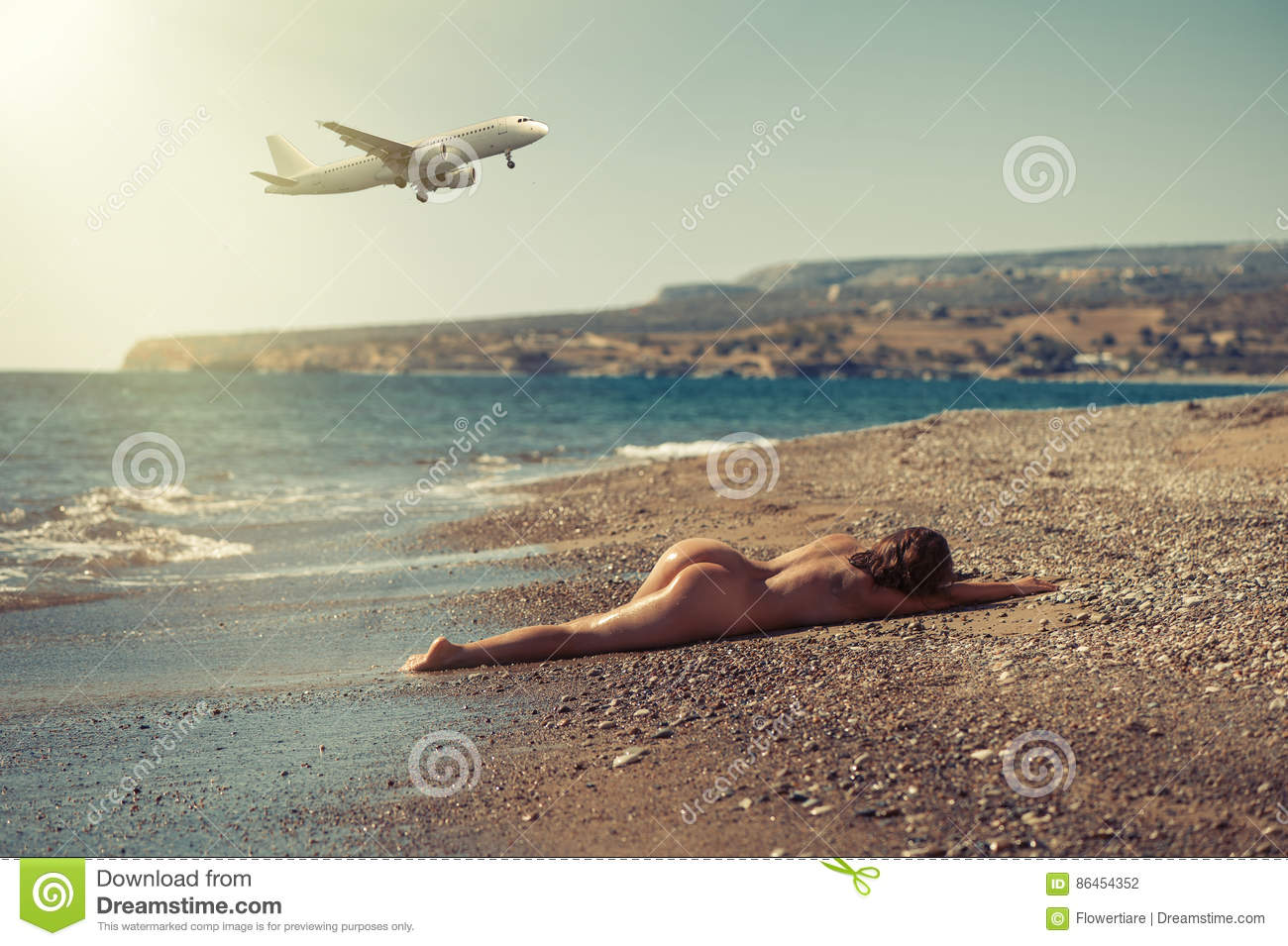 Pity, Naked girl sitting on beach consider