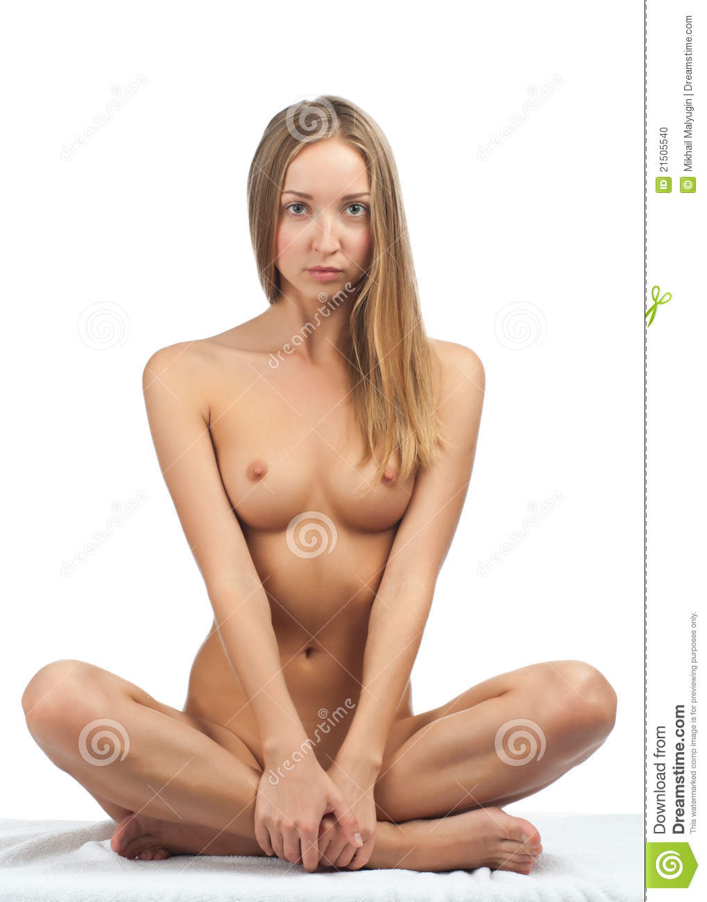 Beautiful Naked Woman With Slim Body Stock Photo - Image -7629