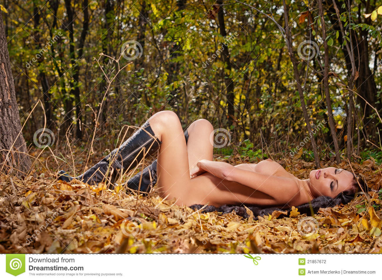 hot naked ladys in the woods