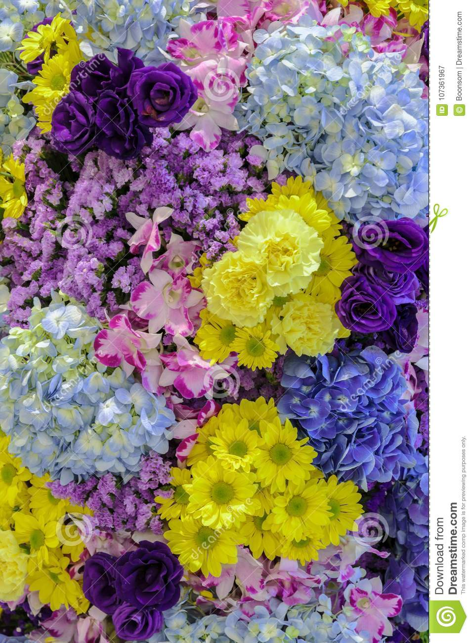 Beautiful fresh different types of colorful flowers decorated ga download beautiful fresh different types of colorful flowers decorated ga stock image image of background izmirmasajfo