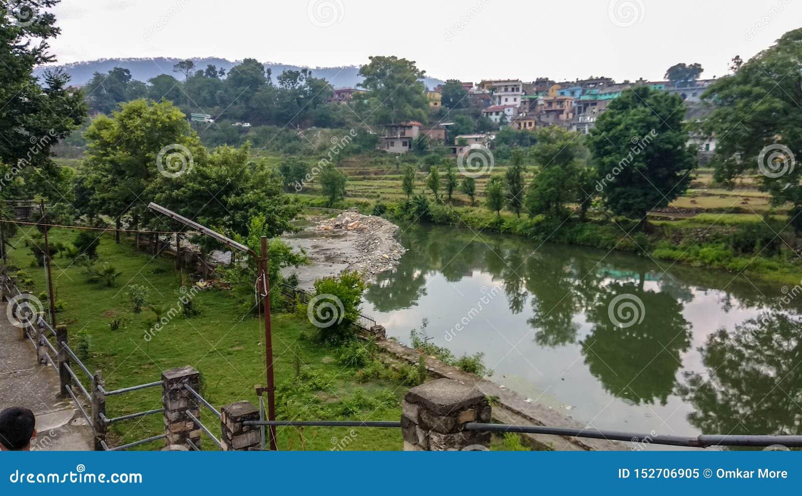 Beautiful natural view in Uttarakhand