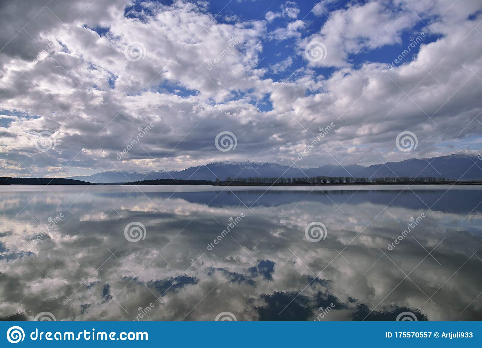 Beautiful Nature Background Blue Wallpaper Water Landscape Art Photography Sky Clouds Lake Mountain Trees Relaxation Pond Snow Stock Image Image Of Fantasy Greeting 175570557