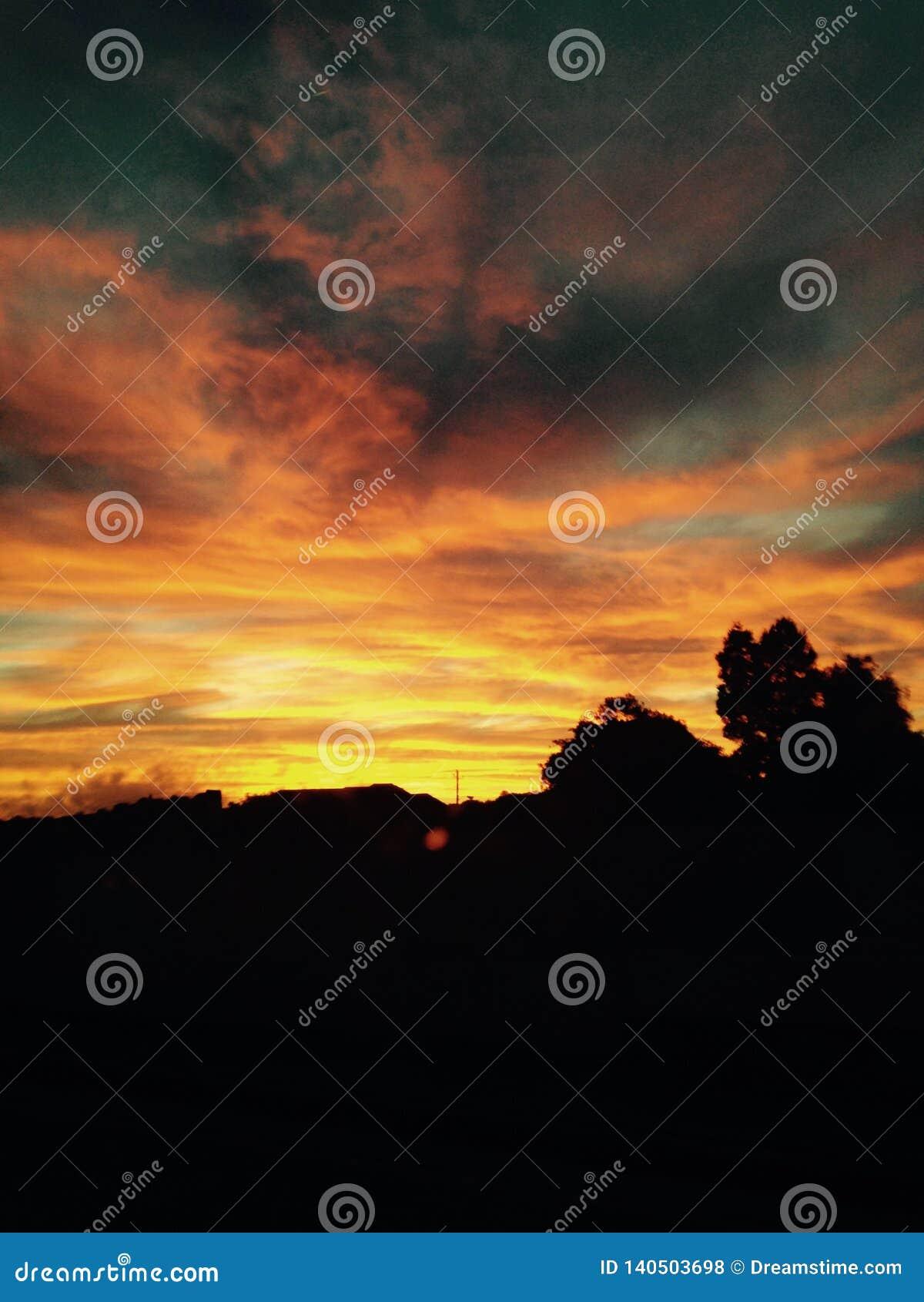 Beautiful New Mexico Sunset