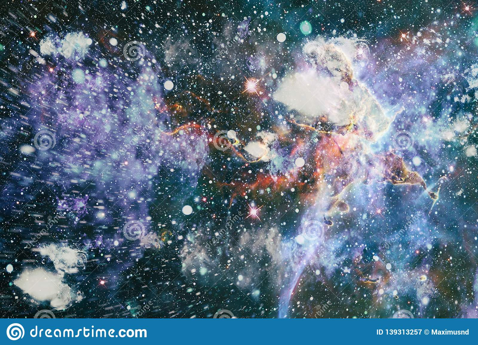 2888c4174d881 Galaxy Creative Background. Starfield Stardust And Nebula Space ...