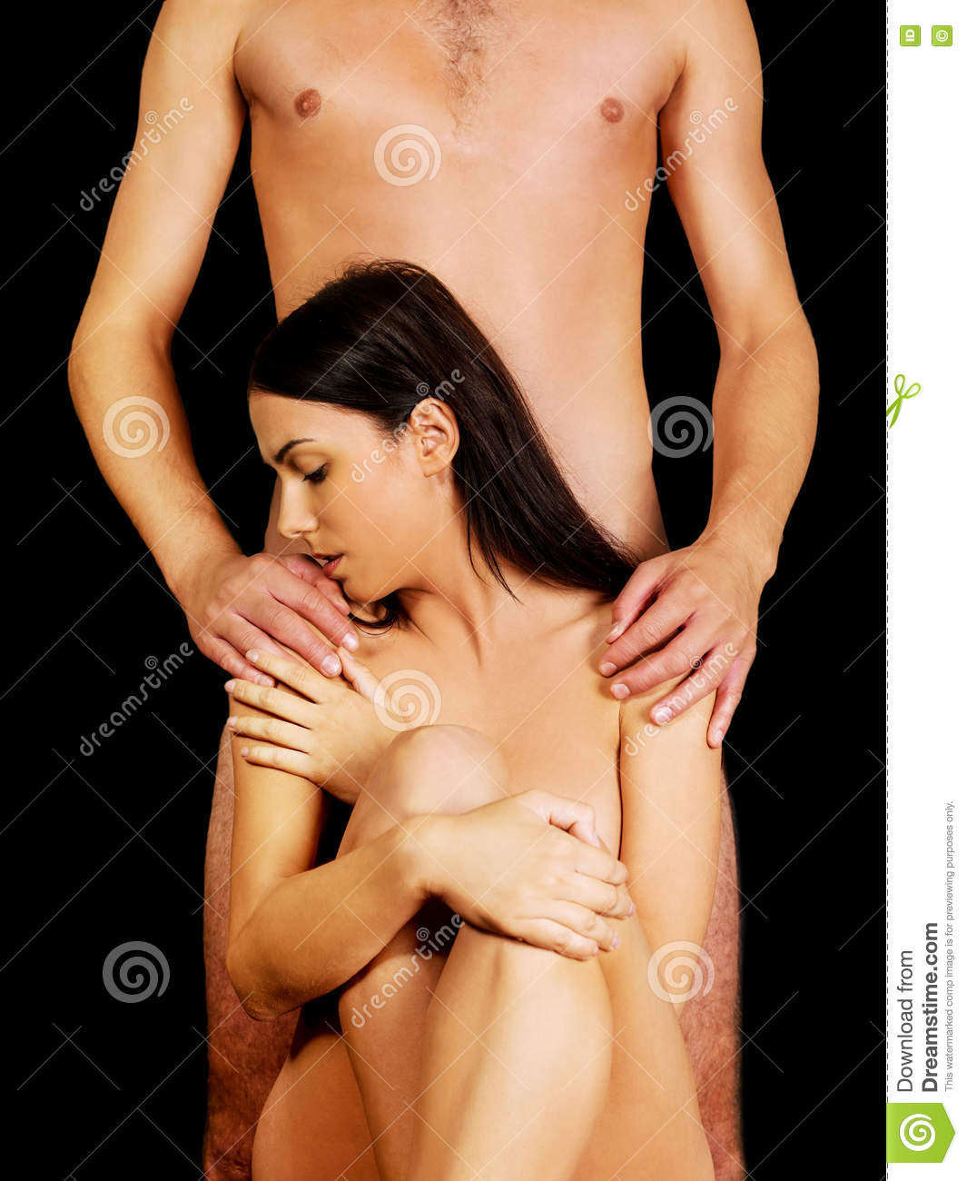 Naked Couple Holding Hands Images, Stock Photos Vectors