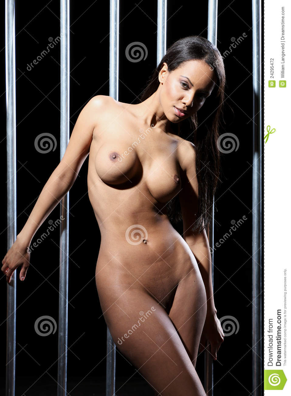 Naked prison woman jail nude