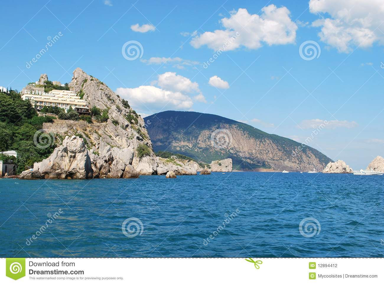 Beautiful Ocean View Stock Photography Image 12894412