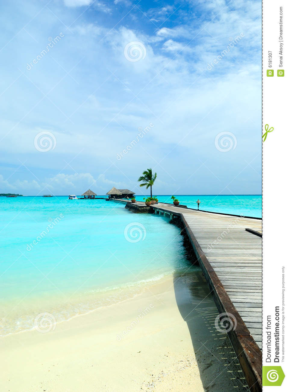 Beautiful Ocean View Royalty Free Stock Photography - Image: 6181307