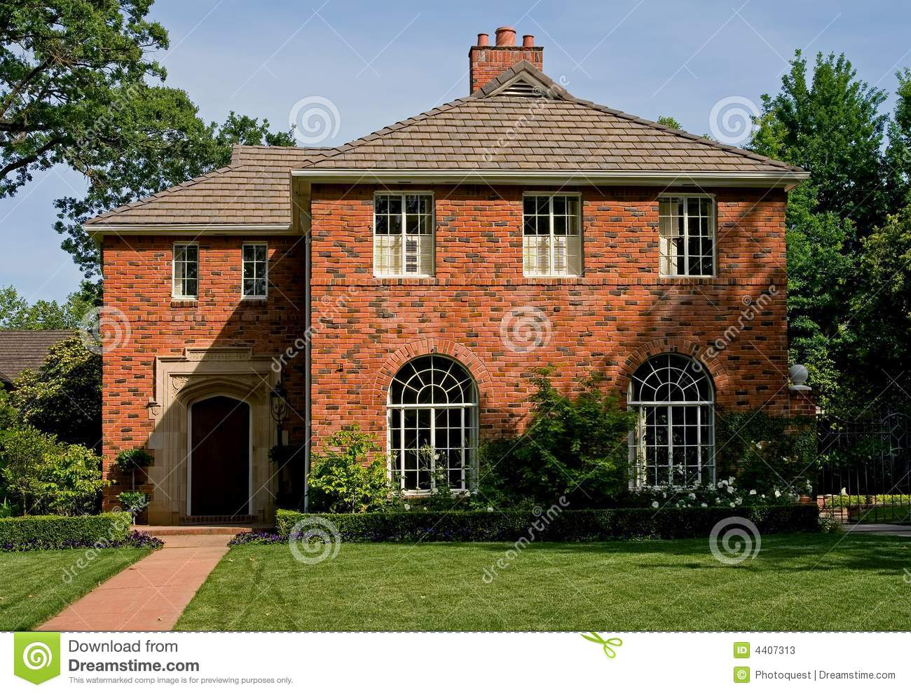 Beautiful Old Brick House Download Preview