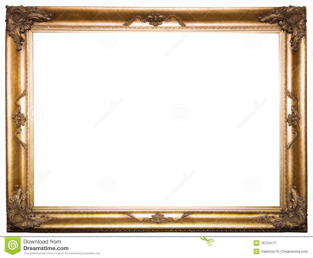 beautiful old frame royalty free stock photography