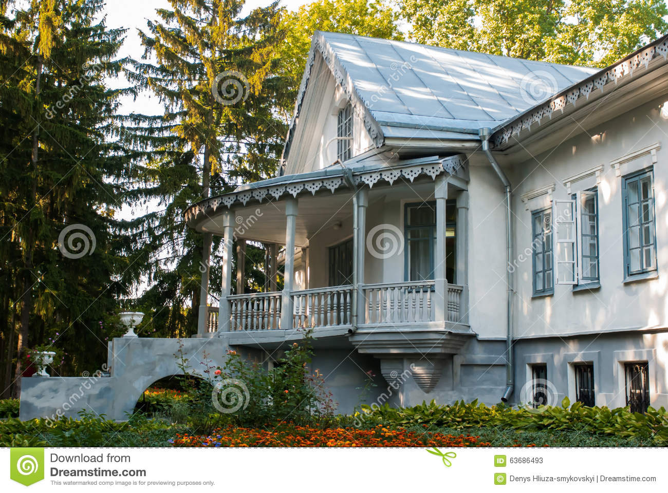 Beautiful Old House Stock Photo Image 63686493