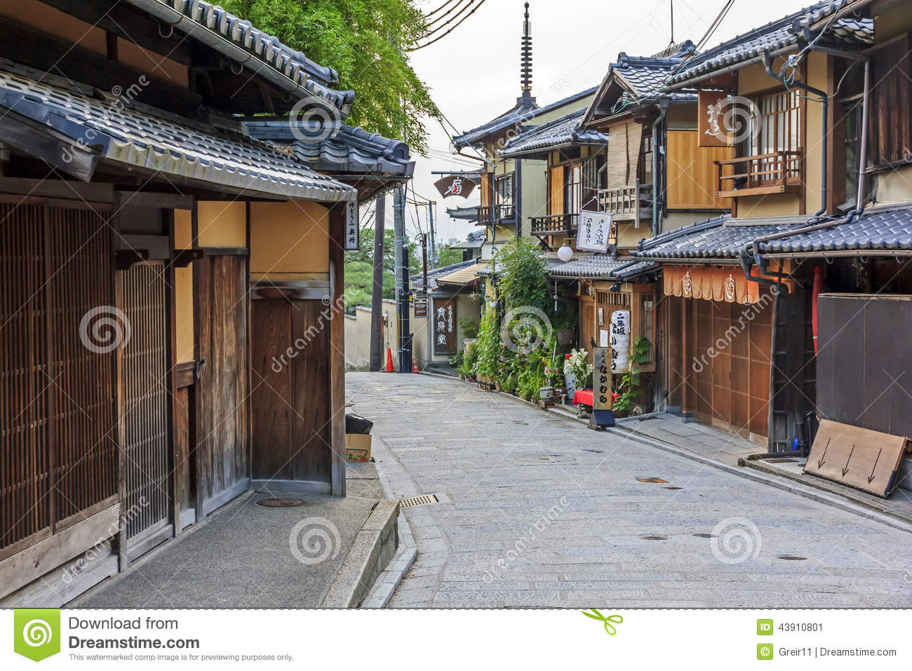 Beautiful old houses in ninen zaka street kyoto japan for Beautiful classic houses