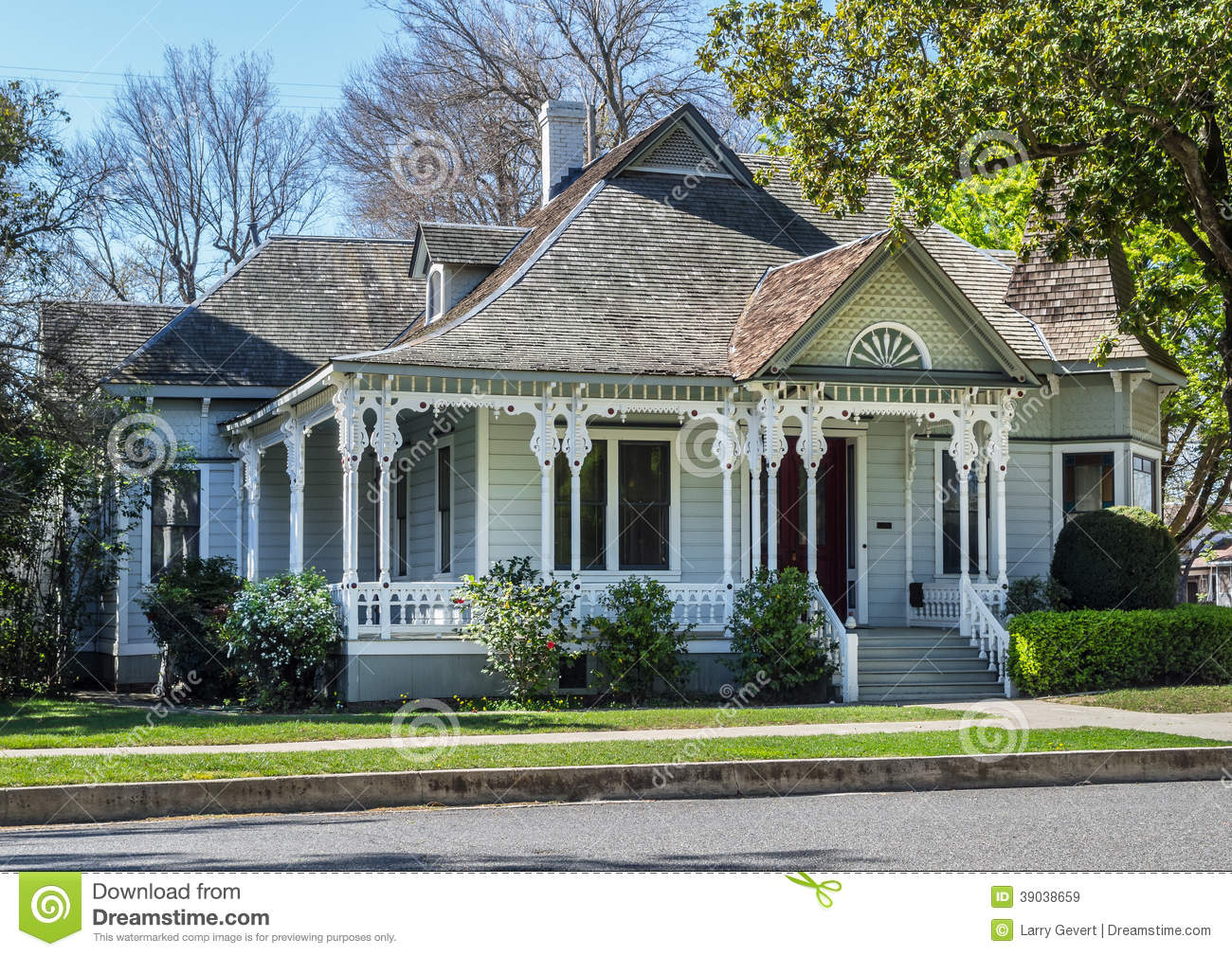 Beautiful old victorian home stock photo image 39038659 for Beautiful classic houses