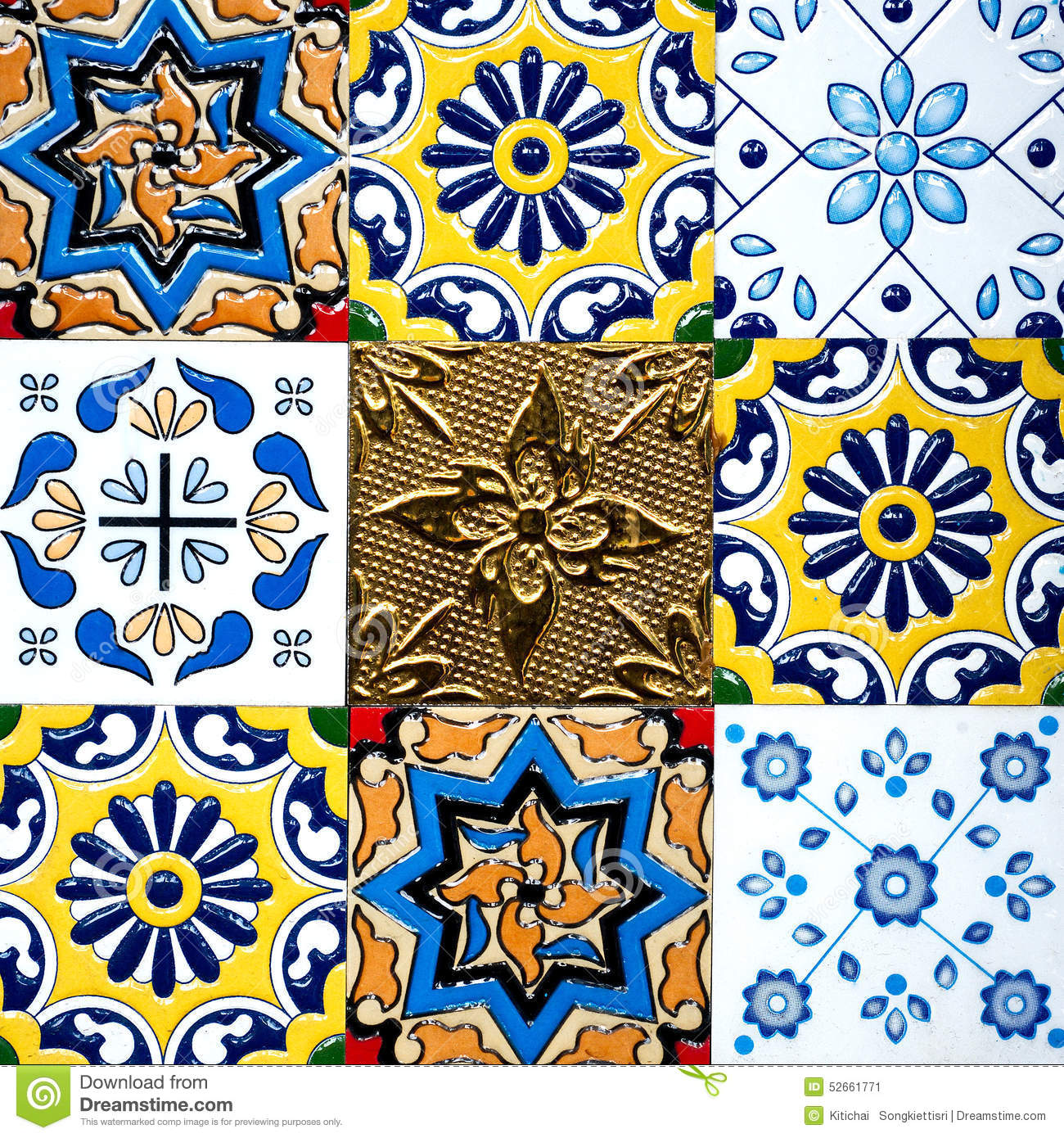 Beautiful old wall ceramic tiles patterns handcraft from thailand beautiful old wall ceramic tiles patterns handcraft from thailand public building nobody dailygadgetfo Images