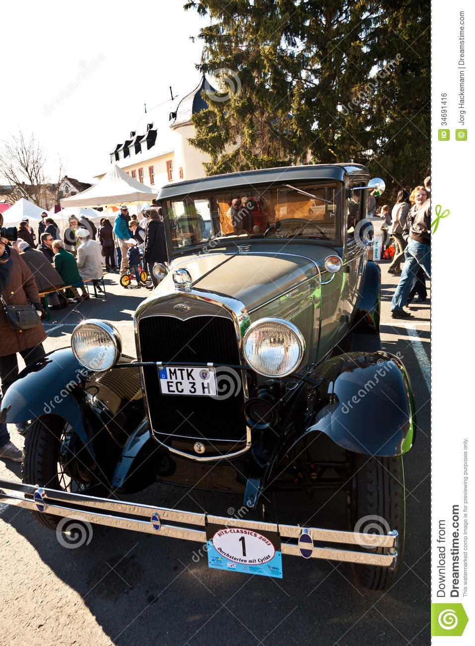 Hofheim Germany  city images : HOFHEIM, GERMANY MARCH 20: Beautiful oldtimer take place in the MTK ...