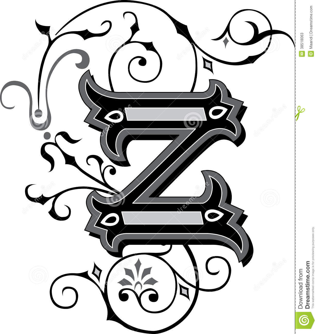 How To Draw 3d Letters A To Z