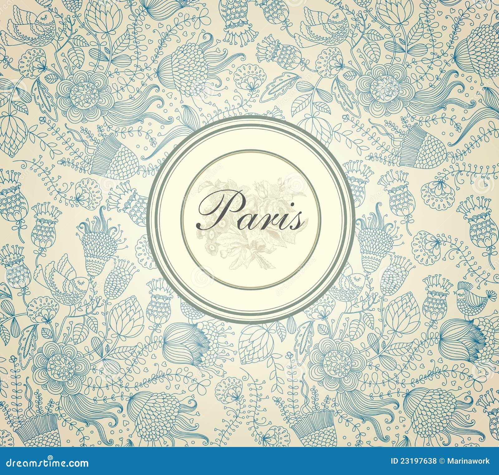 Beautiful ornamental background