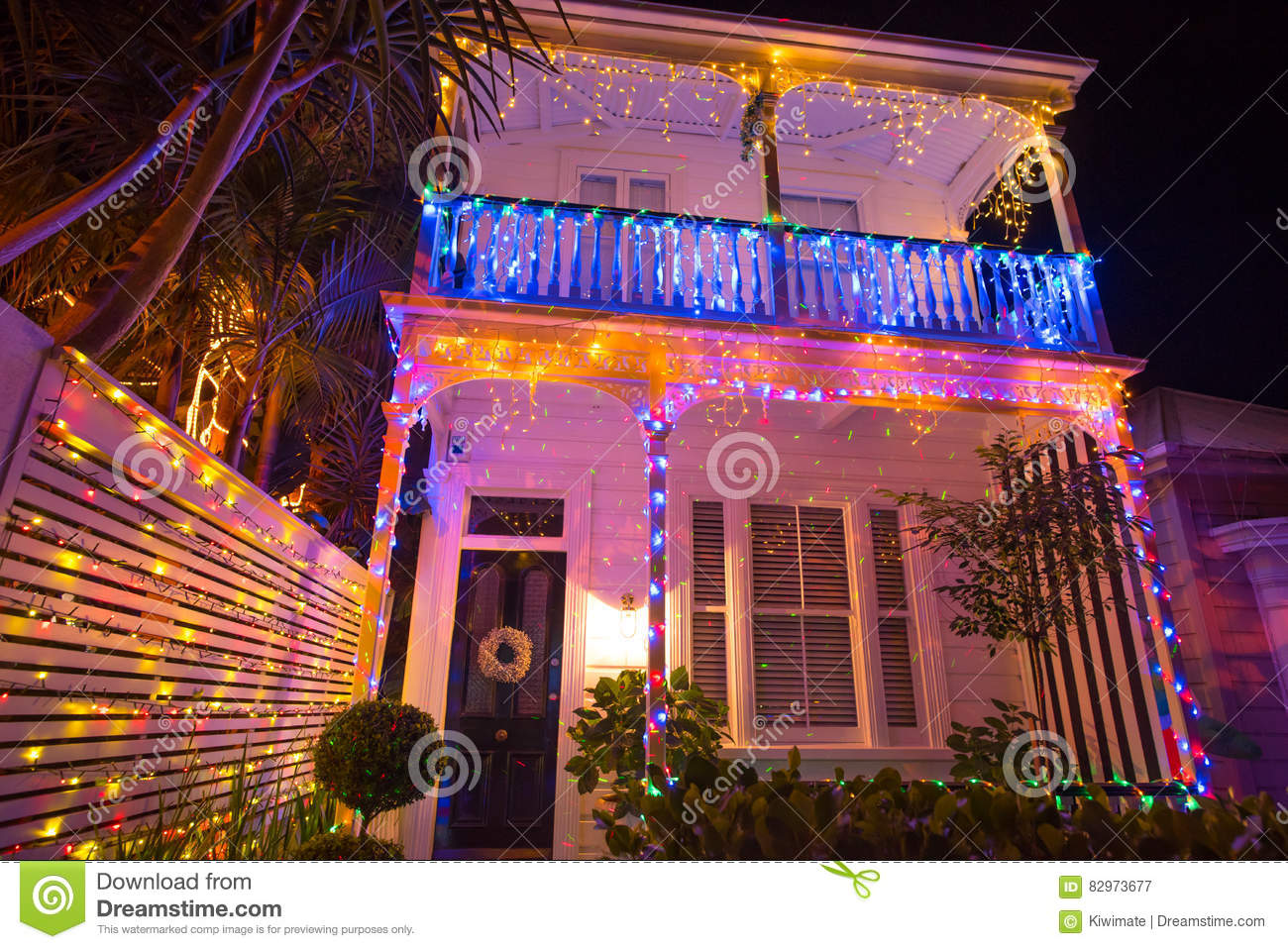 download beautiful outdoor christmas lights display house decocation editorial photography image of bulbs decor