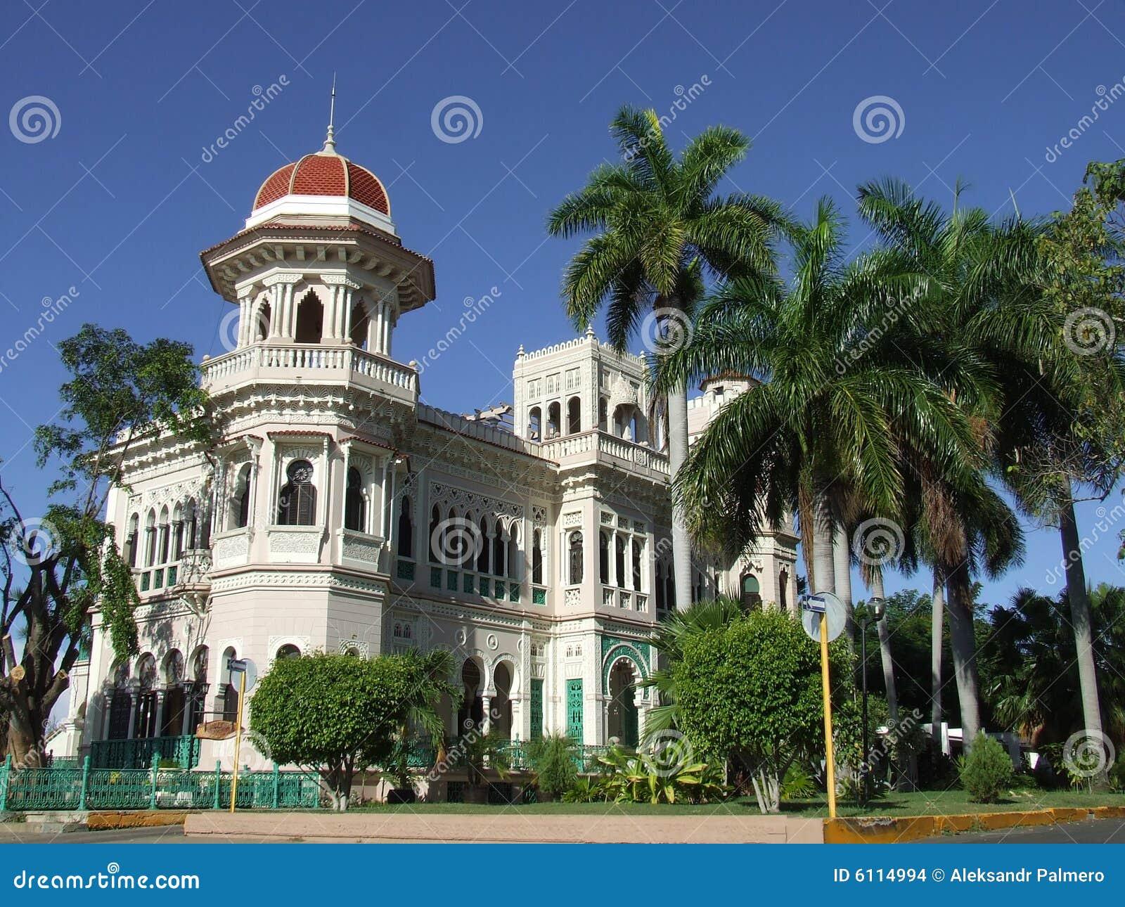 Beautiful palace in Cienfuegos