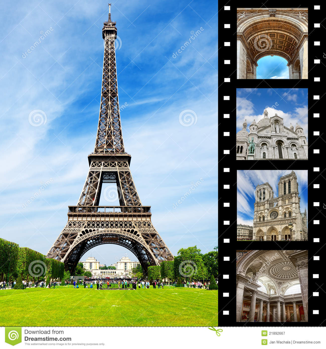 Pictures Of Beautiful Bedrooms And Living Rooms: Beautiful Paris Royalty Free Stock Photography