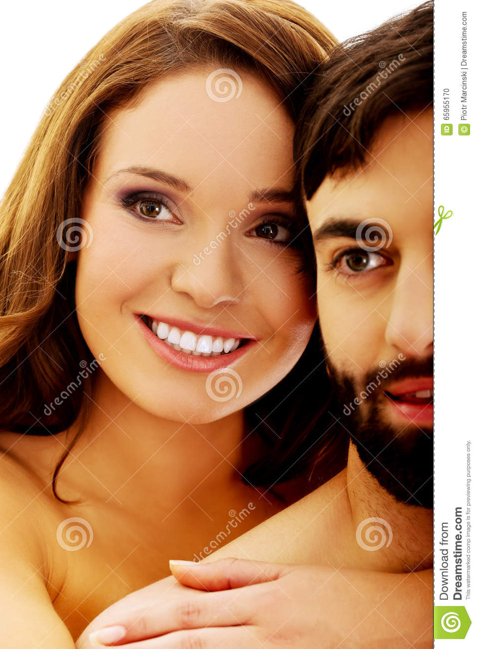 portrait of asian younger man and woman like fashion model