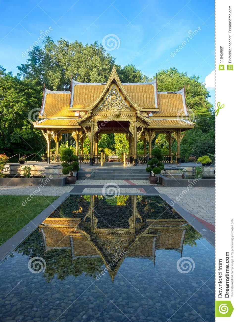 Garden Kaleidoscope At Olbrich >> Thai Pavilion In Olbrich Botanical Gardens In Madison Wisconsin