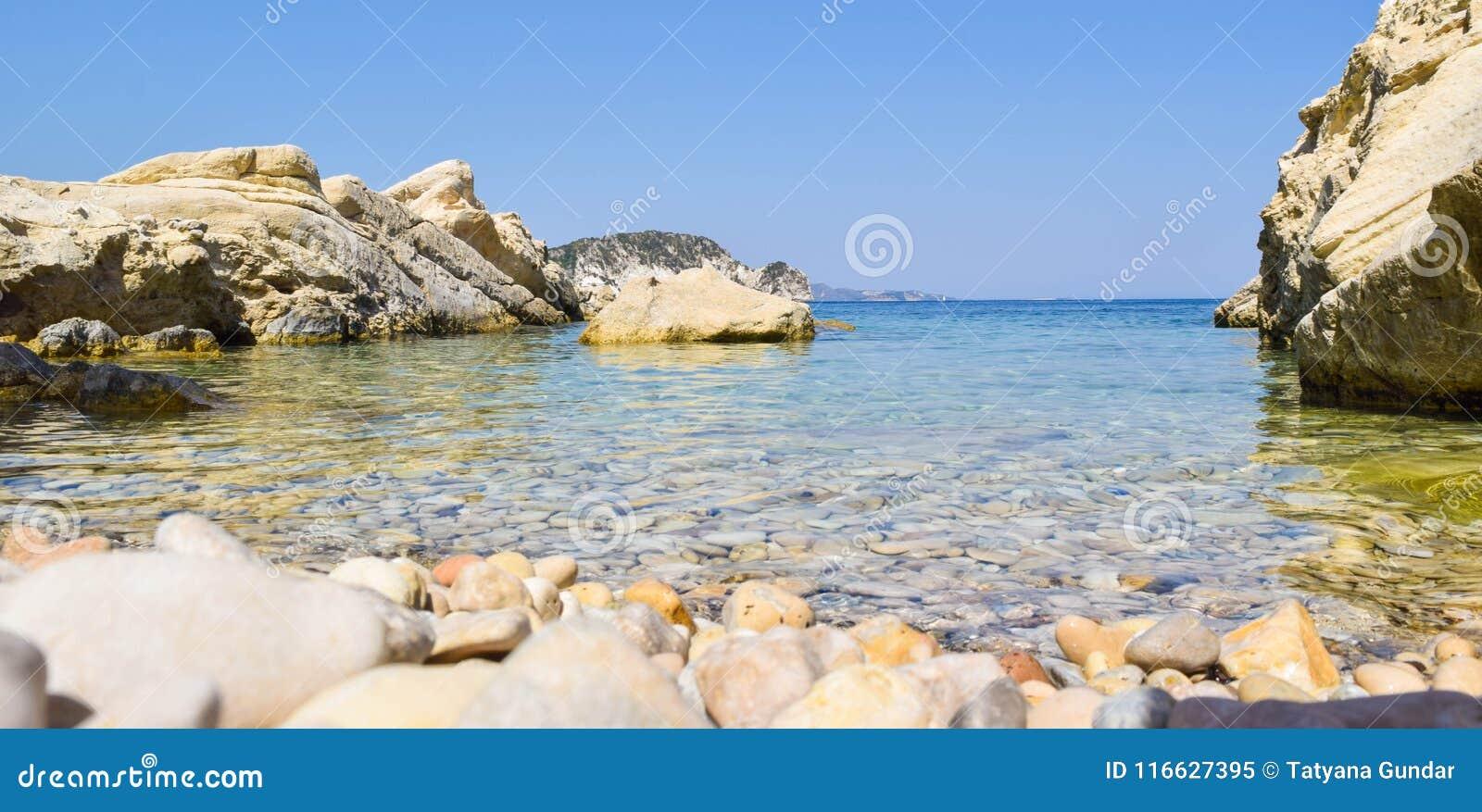 Marathias beach, Zakynthos Island, Greece.