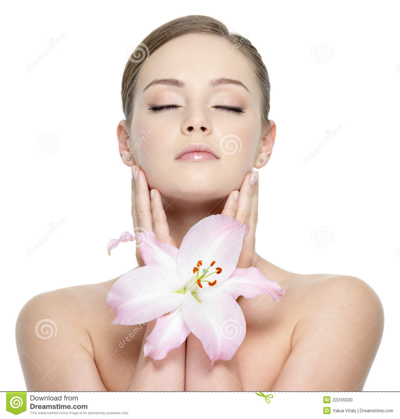 Beautiful perfect face of young girl stock photo image 22245030 - Garls perpact ...